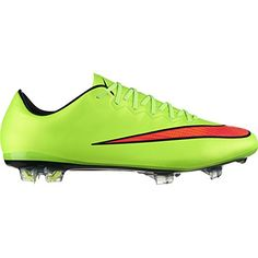 c09425fae Nike MERCURIAL VAPOR X FG Electric Green Volt Black Hyper Punch US sz