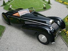 1939 Bugatti Type 57C by Voll and Ruhrbeck