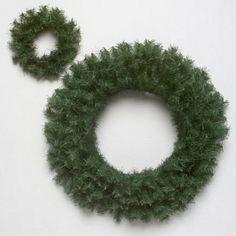 Vickerman 16in. Green 100 Tips Wreath by Vickerman. $6.45. 16 in. Canadian Pine Wreath, 100 Tips