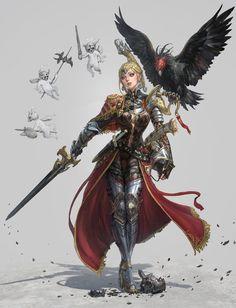 eagle knight by inshoo1.deviantart.com on @DeviantArt