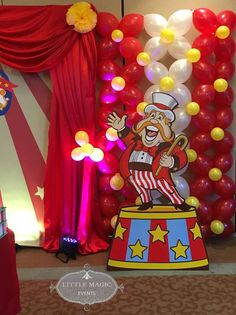Carnival Theme Birthday Party Ideas | Photo 3 of 5