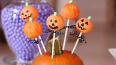 Jack-o'-Lantern Cake Pops Are Almost Too Cute to Eat: Cake pops are a festive touch to just about any occasion, from weddings to birthdays - and that includes, of course, All Hallows' Eve.