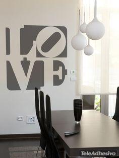 Stickers muraux love design