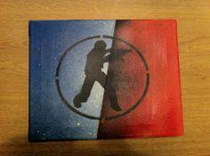Counter Strike 1.6 Stencil