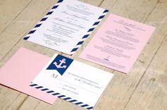 preppy nautical invites