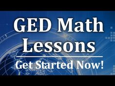 Free GED Math lessons and video review help. Prepare for your GED test with our free tutorials. For more test help see: http://www.mygedsecrets.com