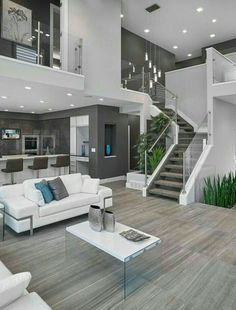 Home Remodel On A Budget 20 amazing interior design for your dream house KP Design.Home Remodel On A Budget 20 amazing interior design for your dream house KP Design Home Design, Modern House Design, Home Interior Design, Modern Houses, Interior Ideas, Villa Design, Salon Design, Modern Interior, Mansion Interior