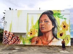 @powwowdc Newly completed #mural by @adnate for #PowWowGuam 2017 and @GuamArtExhibit. ▪️Model @youngbiha ▪️ @jessica.crema ▪️ Supported by @visitguamusa @montanacans @montanacans_usa @olukai @47 @monsterenergy @united @gtateleguam @budweiser @dfsofficial @eptmusa @bankofguam @guam.ibtf @theplazashoppingcenter, Kicks Hawaii Guam, Calypso Group, @kuamnews, Matson, Coast360 Federal Credit Union,