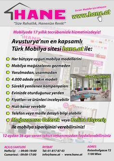 www.hane.at Werbeanzeige auf rehber.at (Türkisch)