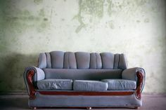 Old Beat Up Sofa
