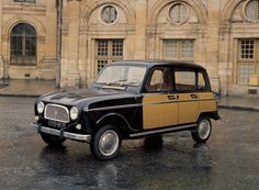 Renault 4 Parisienne, yes ours was complete with wicker sides Shooting Brake, Unique Cars, Cute Cars, Small Cars, Car Car, Sport Cars, Old Cars, Vintage Cars, Auto Vintage