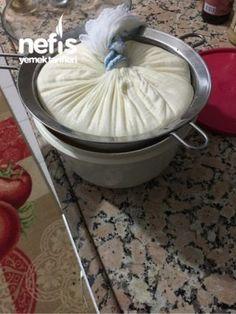 Evde Labne Peynir Yapımı ( Tam Kıvamında )
