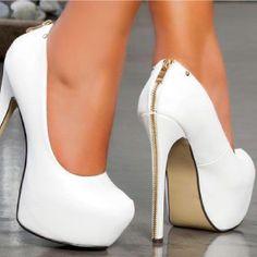 Trendy High Heels For Ladies : Pretty shoes! Platform Stilettos, High Heel Pumps, Stiletto Heels, Platform Shoes, Pretty Shoes, Beautiful Shoes, Hot Shoes, Shoes Heels, Heeled Boots