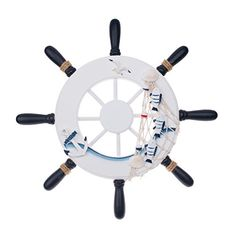 BALORAY 125 inch Ship Helm Wheel Ornamental Home Nautical Rustic Wall Marine Decor Wood Pirate Ship Helm Wheel for Coffee Shop BarPub >>> You can find out more details at the link of the image.