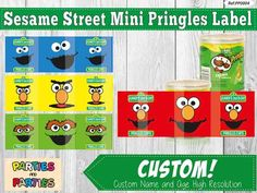 100 Sesame Street Birthday Party Ideas—by a Professional Party Planner Baby Boy 1st Birthday Party, Third Birthday, 1st Boy Birthday, 2nd Birthday Parties, Birthday Ideas, Sesame Street Party, Sesame Street Birthday, Sesame Street Invitations, Elmo And Cookie Monster