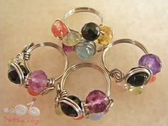 Wire Wrap Jewelry and Tutorials by WireBliss.