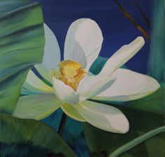 Floral Oil Painting by Susan Nall
