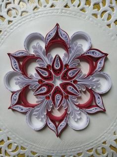 23 Easy Paper Quilling Ideas For Kids – Quilling Techniques Arte Quilling, Paper Quilling Flowers, Paper Quilling Patterns, Quilled Paper Art, Quilling Paper Craft, Paper Beads, Paper Crafts, Quilling Ideas, Paper Embroidery