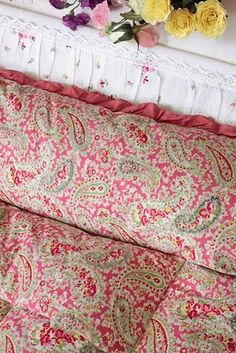 Vintage Home/Vintage quilts they are a perfect match.