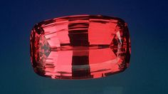 This 123.14-ct. spinel was cut from a 532-ct. piece of rough that came from Tajikistan's Pamir Mountains. - Courtesy Evan Caplan, Los Angeles