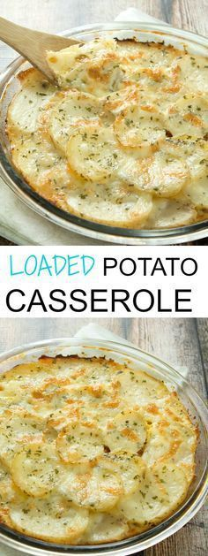Loaded Potato Casser