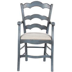 Ballard Designs Casa Florentina Genoa Armchair with Linen Seat ($499) ❤ liked on Polyvore featuring home, furniture, chairs, accent chairs, ballard designs, handcrafted furniture, hand made furniture and handmade furniture