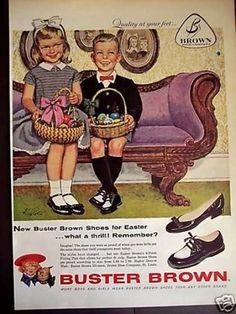 1960's easter   23. 1953 Fleer Dubble Bubble Vintage Easter Ad
