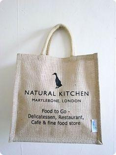 natural kitchen - ロンドンのエコバッグ 上田商店