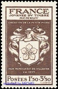 erste Stadtpost in Paris – http://d-b-z.de/web/2013/08/08/billet-de-port-paye-pariser-stadtpost-briefmarken-ganzsachen/