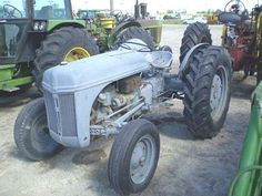Old Ford tractors Ford Tractors, Old Fords, Race Cars, Racing, Garden, Vintage, Tractor, Accessories, Drag Race Cars