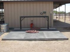 horse wash rack - Google Search