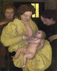 Denis, Maurice (French, 1870-1943) - Motherhood - 1895