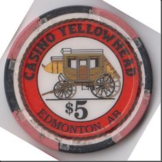 This chip is from Casino Yellowhead in Edmonton, Alberta.