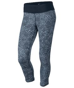 Nike Damen Fitnesstight Epic Printed Cropped Pants