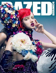 dazed cover #flowers #ss14