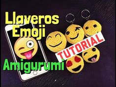 EMOTICONO A GANCHILLO. AMIGURUMI CON BOLA FORRADA - YouTube