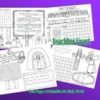4 free printables for Holy Week to use in CCD or at home!  If you enjoy these free activities, please leave positive feedback!  Thank you!  Sheet C...