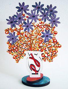 David Gerstein Wild Flowers Sculpture