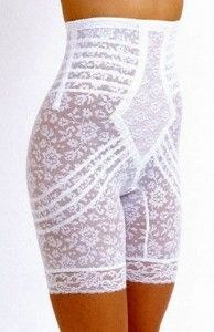 Rago 6207 Lacy High Waist Long Leg Panty Girdle - I have one kind of like this, but I need a new one. These are awesome!