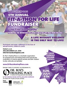 A life without violence, is the ONLY life to live. Join @404mg in support of @DrRozsHP Sunday July 8