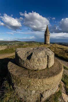 Hatshead Pike, Oldham, England, built in 1853 to commemorate the marriage of HRH Albert Edward to Prinncess Alexandra Images Of England, Barnsley, England And Scotland, English Countryside, Travel Images, British History, British Isles, Ancestry, London England