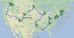 How to drive through all 48 of the contiguous United States in 113 hours