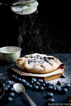 BLUEBERRY TART RECIP