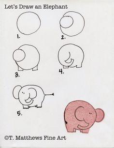 T. Matthews Fine Art: First Friday Art Class for January 2015 - Let's Draw Animals