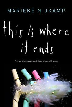 THIS IS WHERE IT ENDS: a tragic, gripping story following a school shooting. Told from the perspectives of several students during a devastating 54 minutes, this novel takes you on an emotional and suspenseful journey that brings up the important conversation of similar real-life experiences in our nation today. It's a necessary story that will have you holding your breath until the very end.
