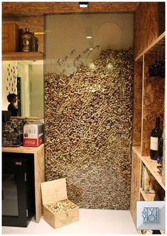 Inspiring Corkwall by Marcella Barcellar - House Decor Ideas 2019 Diy Home Decor Home Wine Cellars, Wine Cellar Design, Cork Wall, Wine House, Wine Decor, Wine Storage, Interior Design Living Room, Ikea Interior, Diy Home Decor