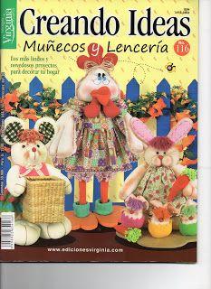 Revistas de Manualidades Para Descargar: Creando Ideas N°116 Muñecoss y Lenceria