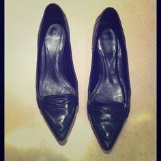 Zara Kitten Heels Worn gently, there is normal wear and tear inside Zara Shoes Heels