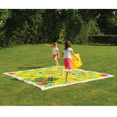 Snakes and Ladders Lawn Game from Hammacher Schlemmer