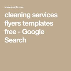 house cleaning flyers to promote your business start a house cleaning business for maximum profit cleaning business flyers pinterest cleaning